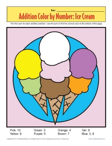 Addition_Color_by_Number_Ice_Cream