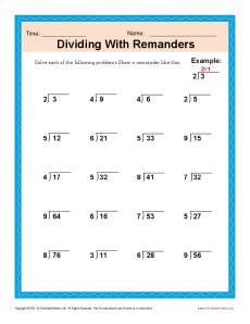 Dividing_Remainders